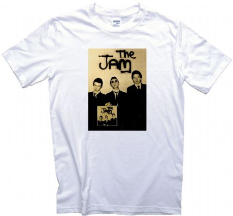 The Jam Record Promo Poster T-Shirt. Adult, Ladies & Kids Sizes.  Vintage Punk Rock Poster Tee